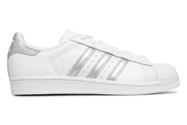 Baskets Adidas Originals Superstar W Blanc vue derrière