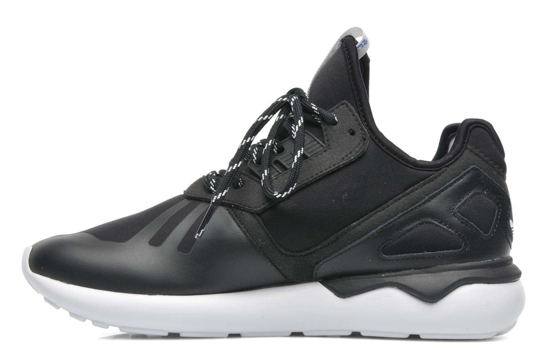Sneaker Adidas Originals Tubular Runner schwarz ansicht von vorne
