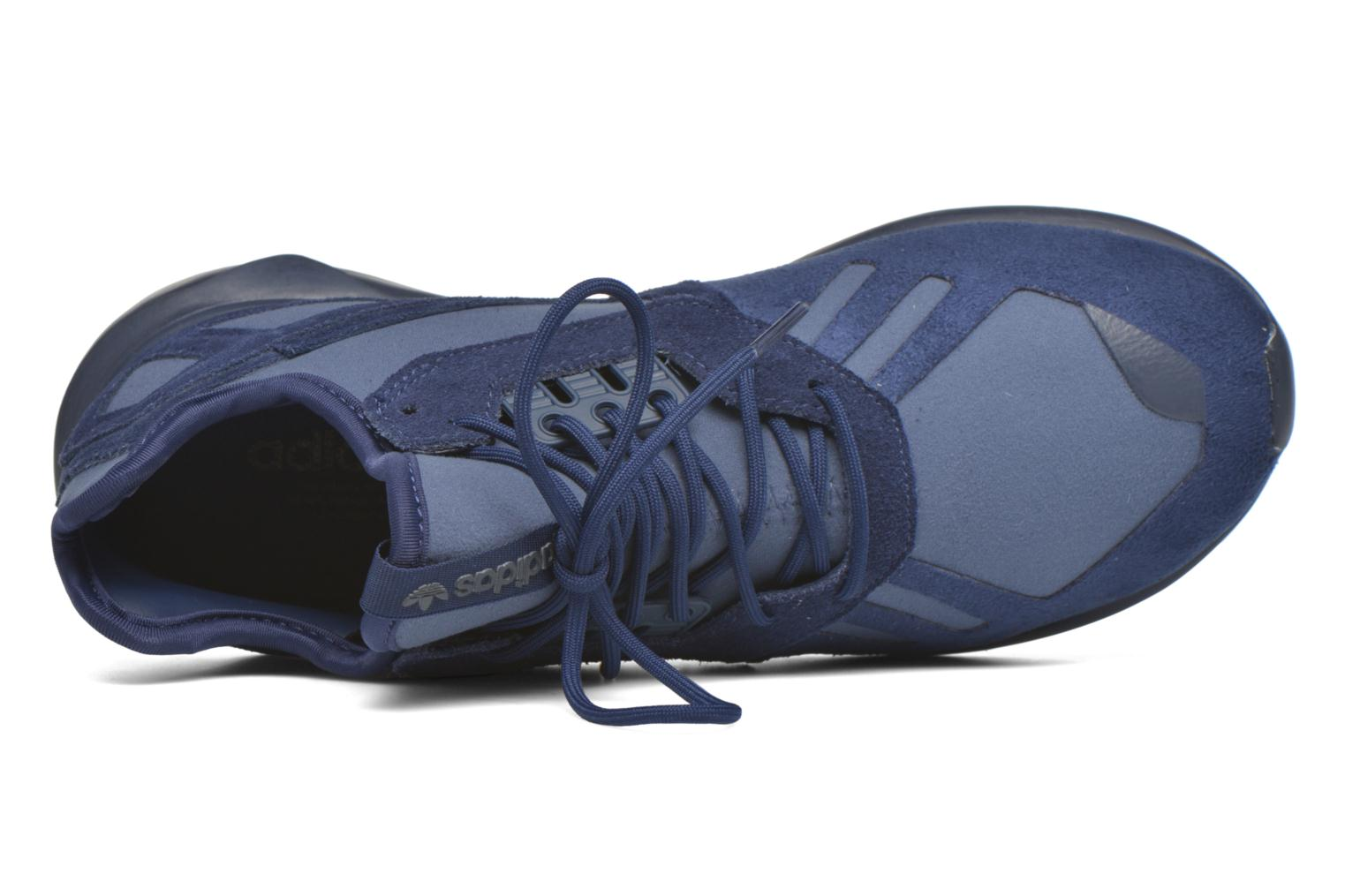 Trainers Adidas Originals Tubular Runner Blue view from the left