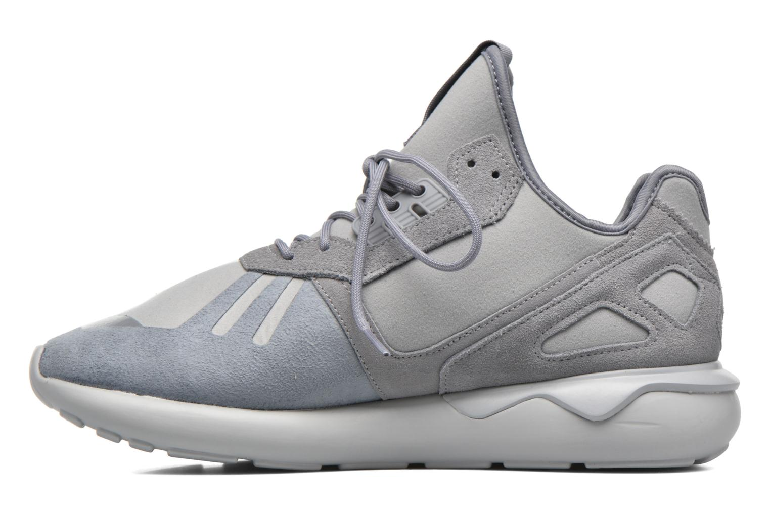 Baskets Adidas Originals Tubular Runner Gris vue face