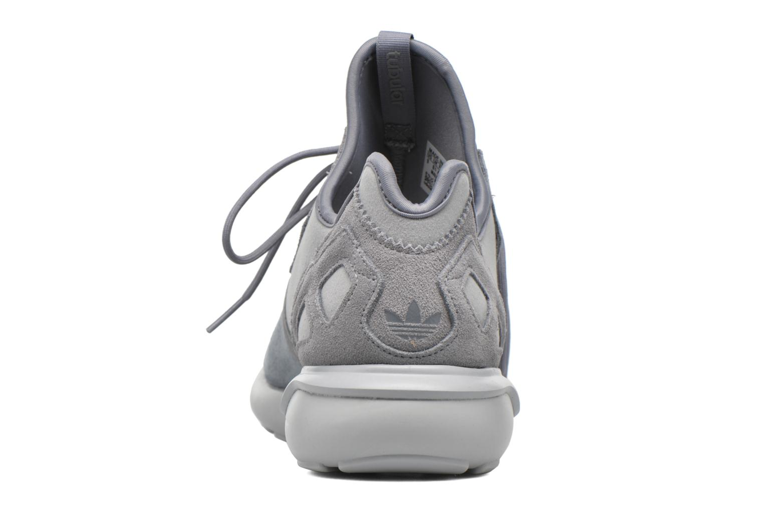 Baskets Adidas Originals Tubular Runner Gris vue droite