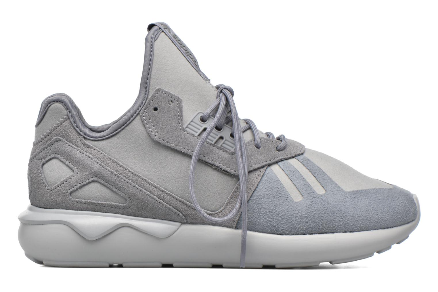 Baskets Adidas Originals Tubular Runner Gris vue derrière