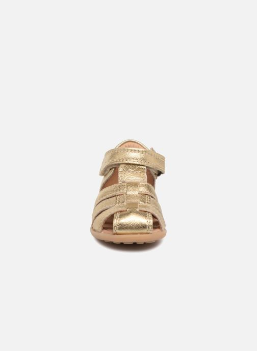 Sandals Bisgaard Carly Bronze and Gold model view