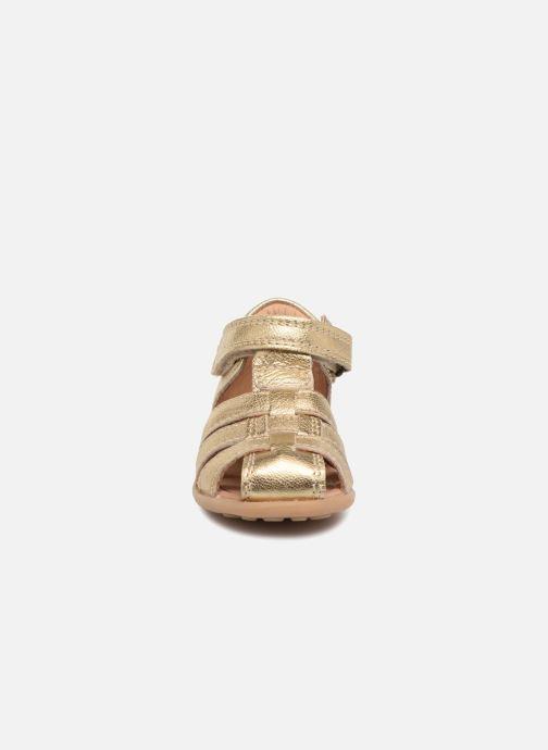 Sandalen Bisgaard Carly gold/bronze schuhe getragen