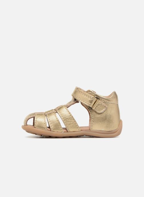 Sandals Bisgaard Carly Bronze and Gold front view