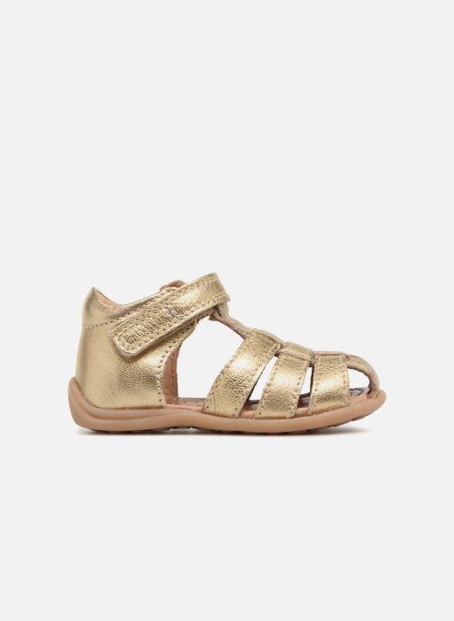 Sandals Bisgaard Birthe Bronze and Gold back view