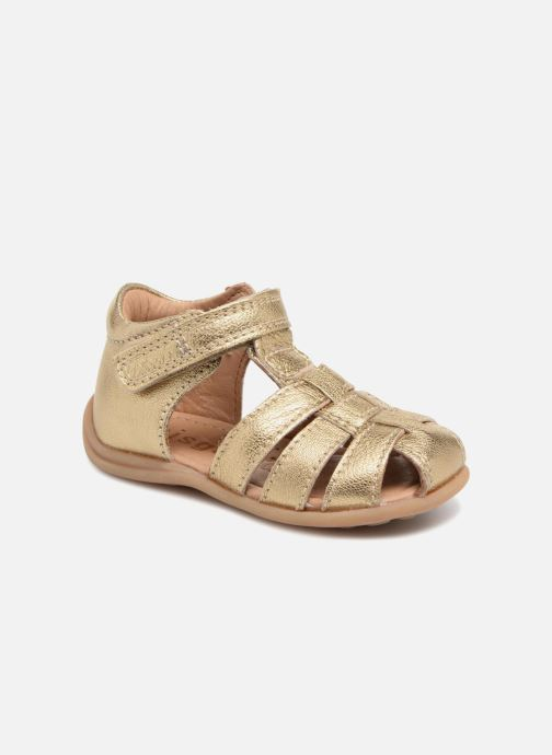 Sandals Bisgaard Carly Bronze and Gold detailed view/ Pair view