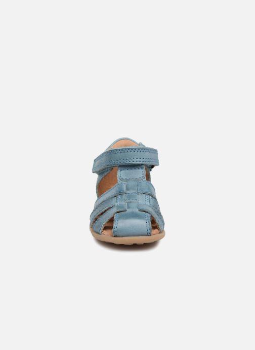 Sandalen Bisgaard Carly blau schuhe getragen