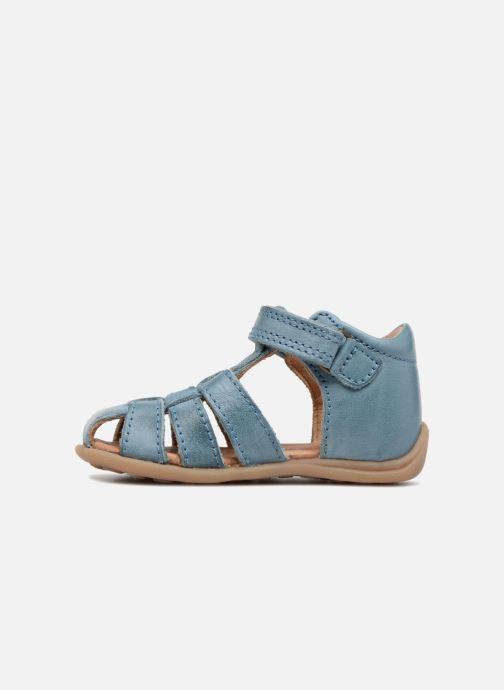 Sandalen Bisgaard Carly blau ansicht von vorne