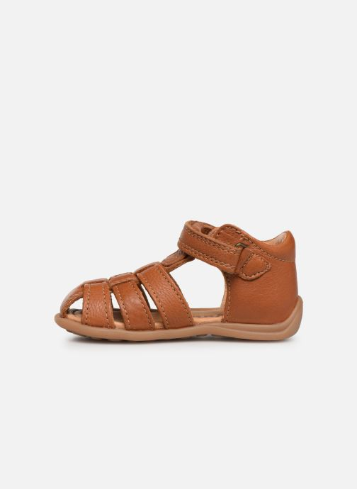 Sandals Bisgaard Carly Brown front view