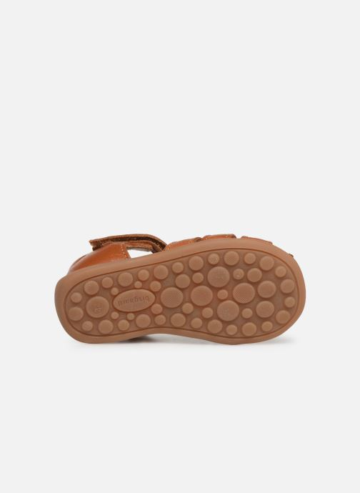 Sandali e scarpe aperte Bisgaard Carly Marrone immagine dall'alto