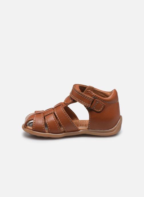 Sandales et nu-pieds Bisgaard Carly Marron vue face