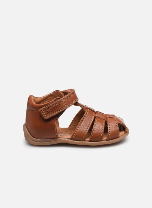 Sandales et nu-pieds Bisgaard Carly Marron vue derrière