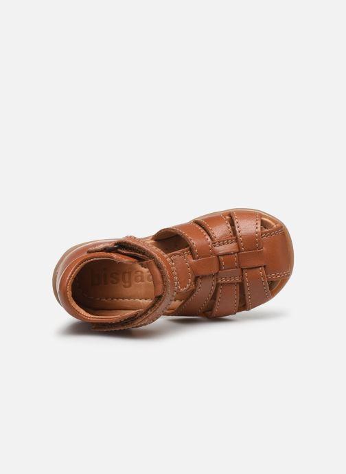 Sandales et nu-pieds Bisgaard Carly Marron vue gauche