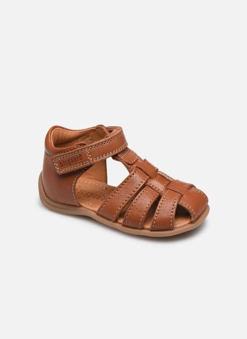 Sandales et nu-pieds Bisgaard Carly Marron vue détail/paire