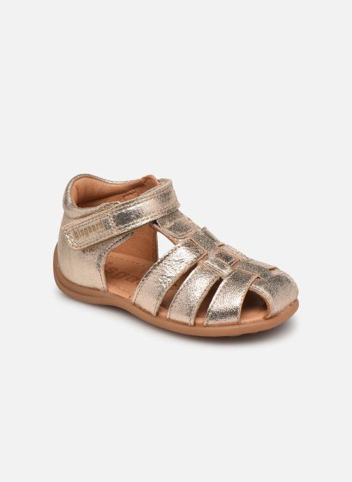 Sandales et nu-pieds Bisgaard Carly Or et bronze vue détail/paire