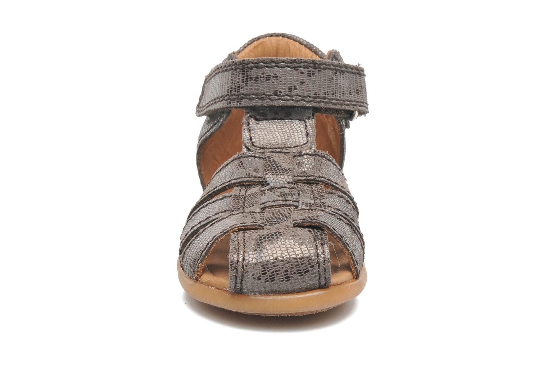 Sandales et nu-pieds Bisgaard Birthe Gris vue portées chaussures