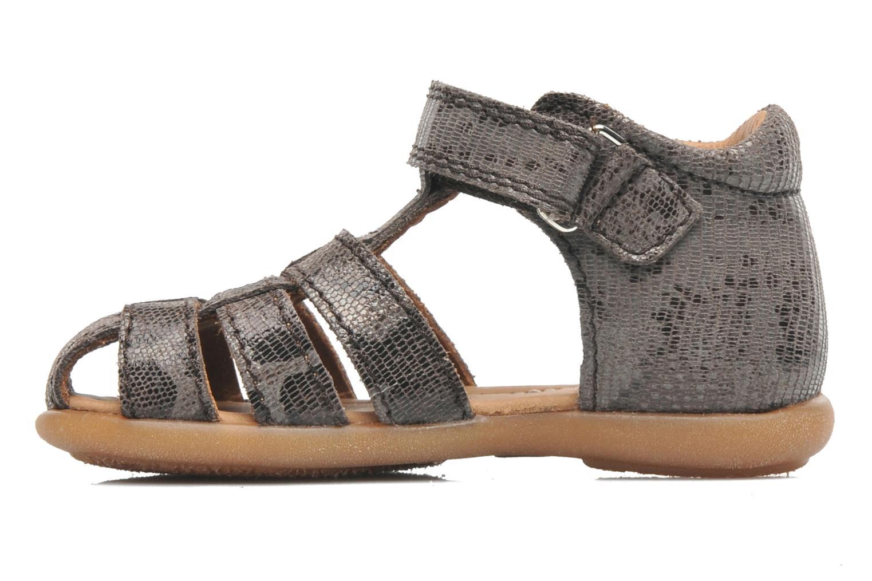Sandales et nu-pieds Bisgaard Birthe Gris vue face