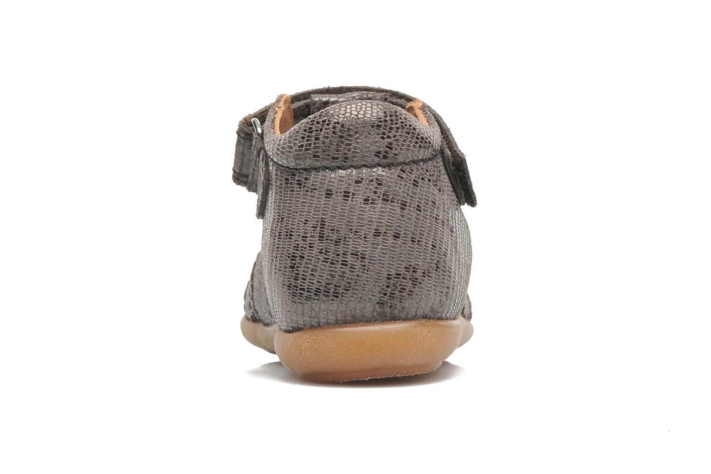 Sandales et nu-pieds Bisgaard Birthe Gris vue droite