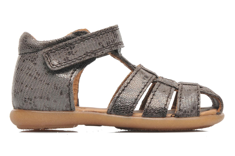 Sandales et nu-pieds Bisgaard Birthe Gris vue derrière