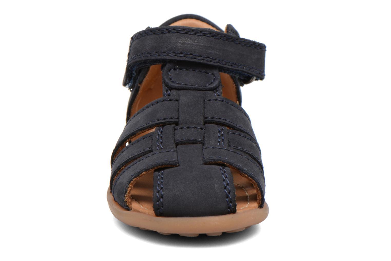 Sandales et nu-pieds Bisgaard Birthe Bleu vue portées chaussures