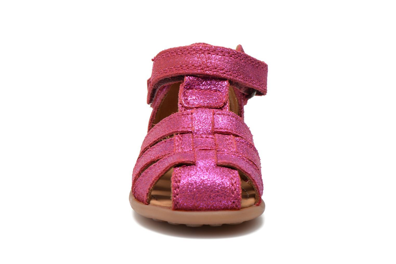Sandales et nu-pieds Bisgaard Birthe Rose vue portées chaussures
