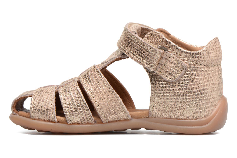 Sandales et nu-pieds Bisgaard Birthe Or et bronze vue face