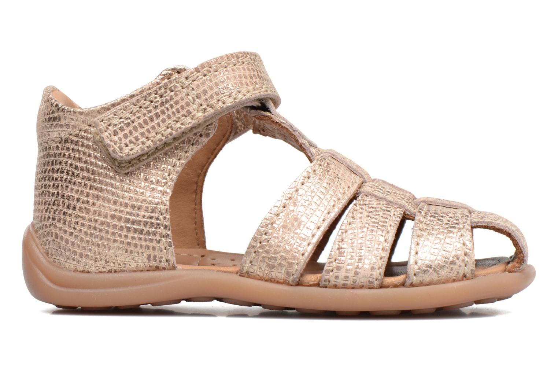 Sandales et nu-pieds Bisgaard Birthe Or et bronze vue derrière