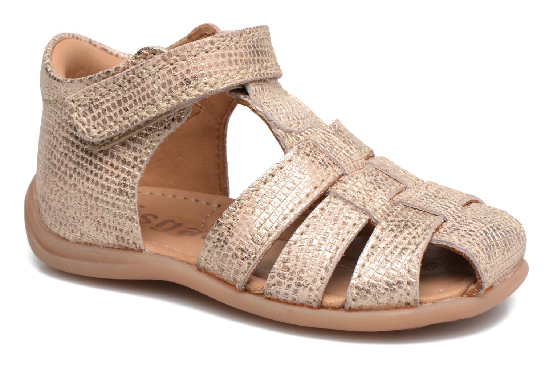 Sandales et nu-pieds Bisgaard Birthe Or et bronze vue détail/paire