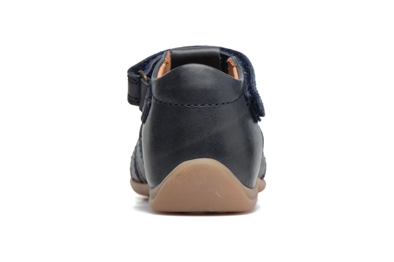 Sandales et nu-pieds Bisgaard Birthe Bleu vue droite