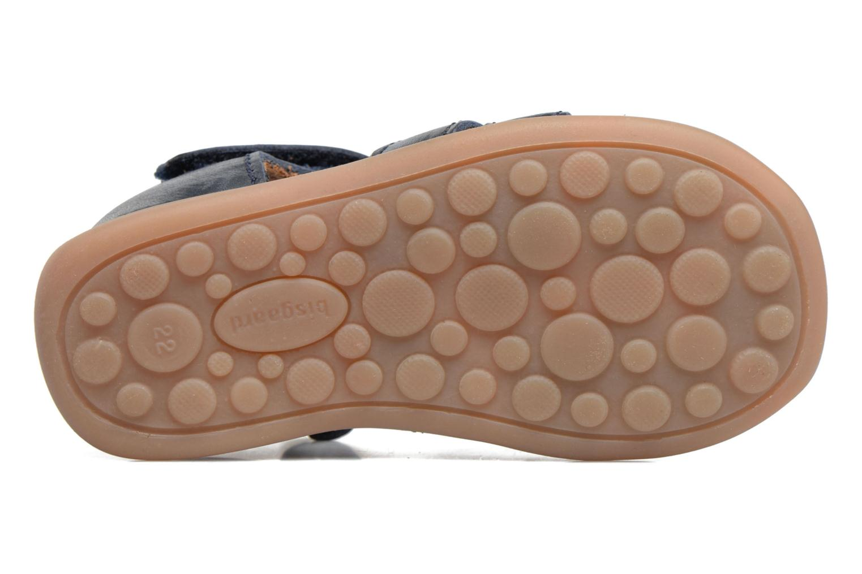 Sandales et nu-pieds Bisgaard Birthe Bleu vue haut
