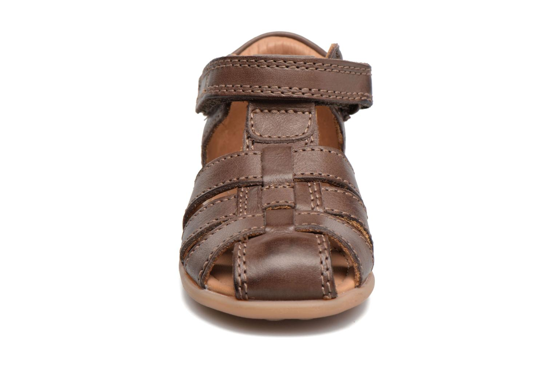 Sandales et nu-pieds Bisgaard Birthe Marron vue portées chaussures
