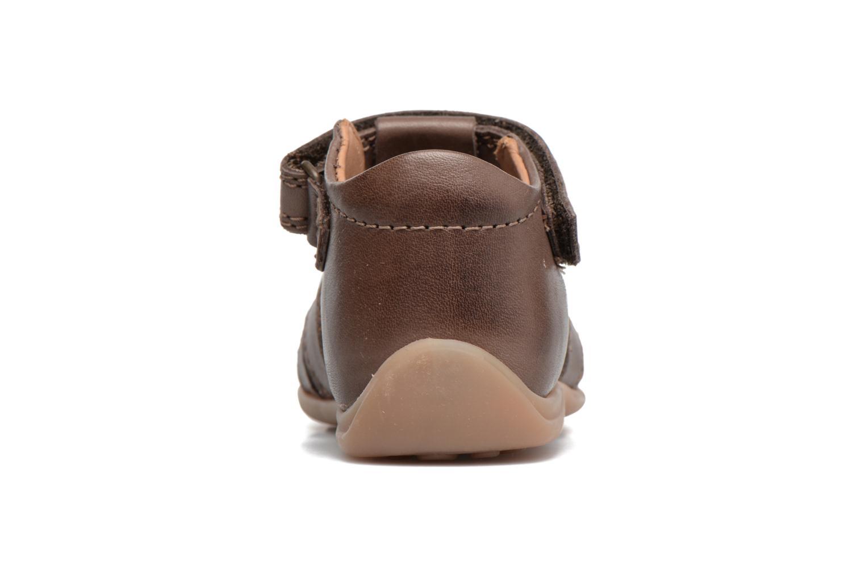 Sandales et nu-pieds Bisgaard Birthe Marron vue droite