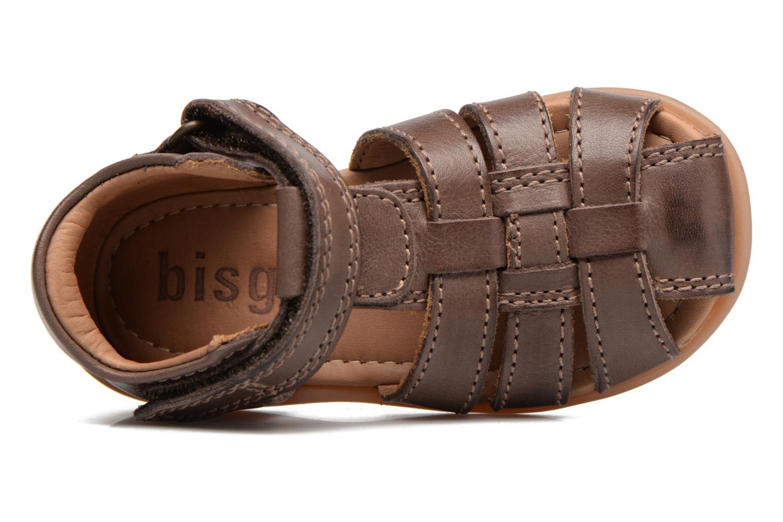 Sandales et nu-pieds Bisgaard Birthe Marron vue gauche