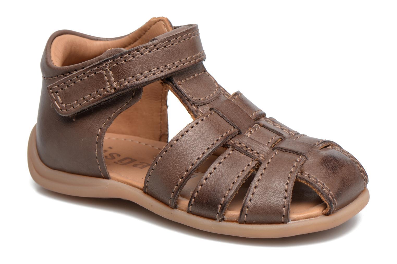 Sandales et nu-pieds Bisgaard Birthe Marron vue détail/paire