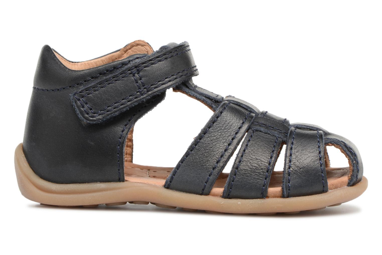 Sandales et nu-pieds Bisgaard Birthe Bleu vue derrière