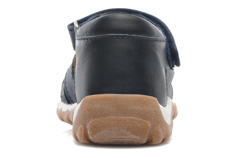 Sandales et nu-pieds Bisgaard Karen Bleu vue droite