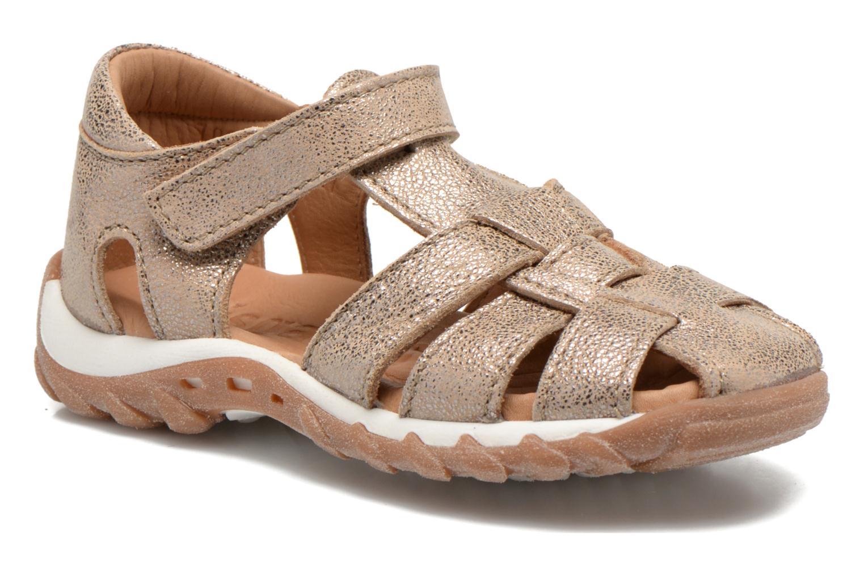 Sandales et nu-pieds Bisgaard Karen Or et bronze vue détail/paire