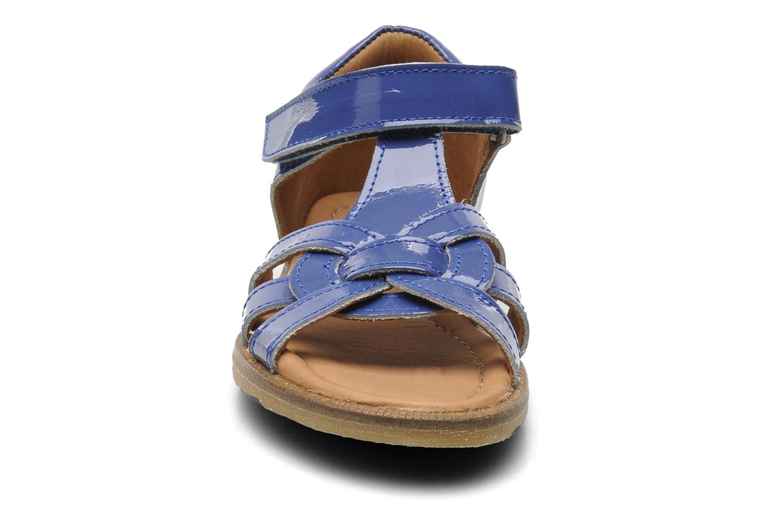 Sandales et nu-pieds Bisgaard Inge Bleu vue portées chaussures