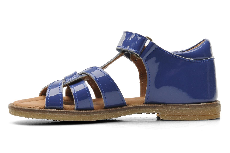 Sandales et nu-pieds Bisgaard Inge Bleu vue face
