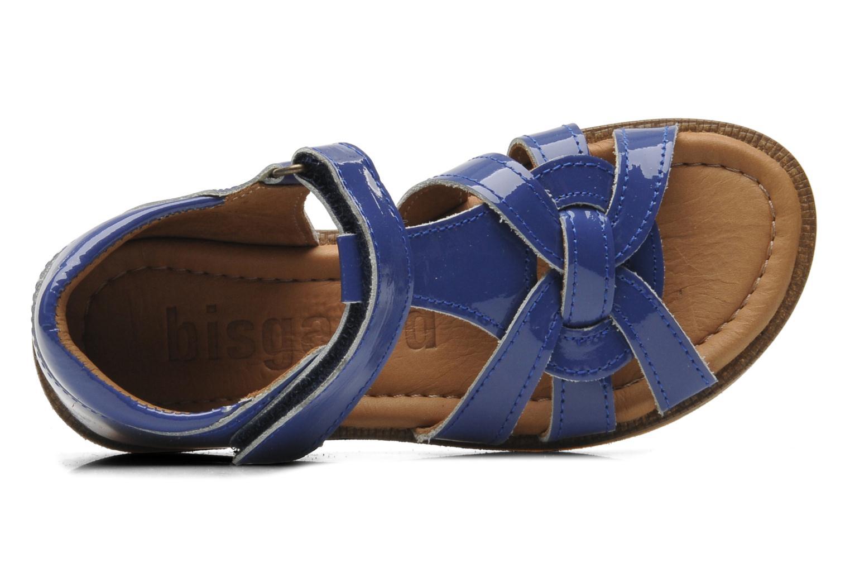 Sandales et nu-pieds Bisgaard Inge Bleu vue gauche