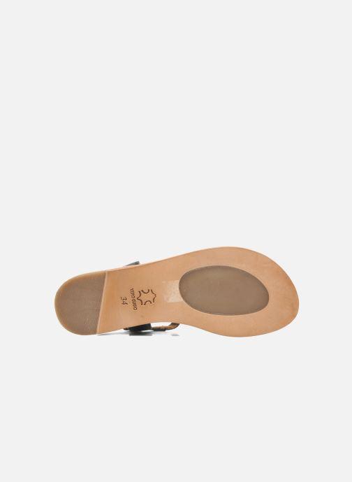 Sandali e scarpe aperte Bisgaard Pia Nero immagine dall'alto