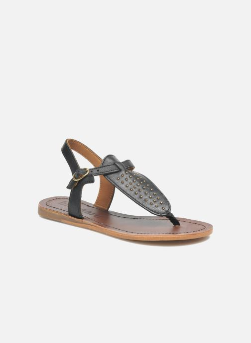 Sandals Bisgaard Pia Black detailed view/ Pair view