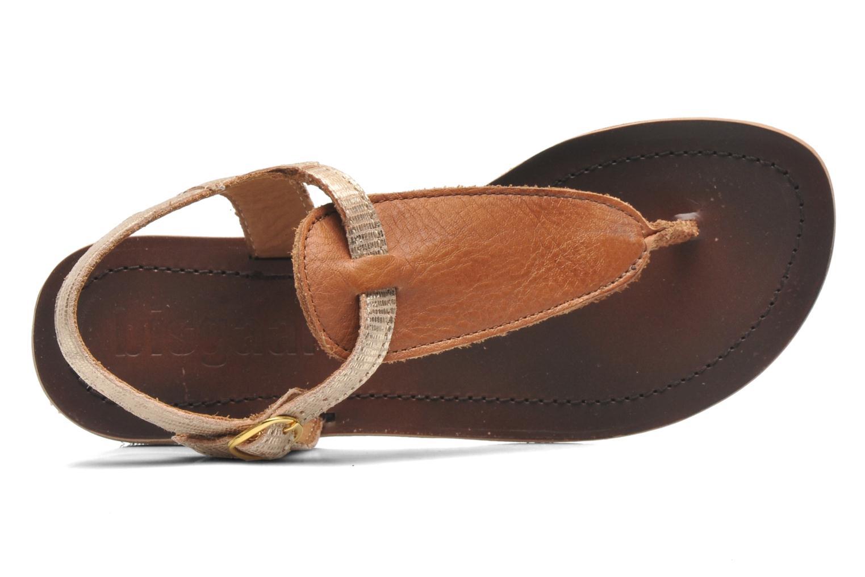 Sandales et nu-pieds Bisgaard Jette Or et bronze vue gauche