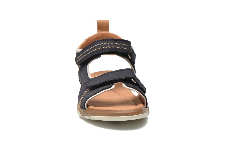 Sandales et nu-pieds Bisgaard Morten Bleu vue portées chaussures
