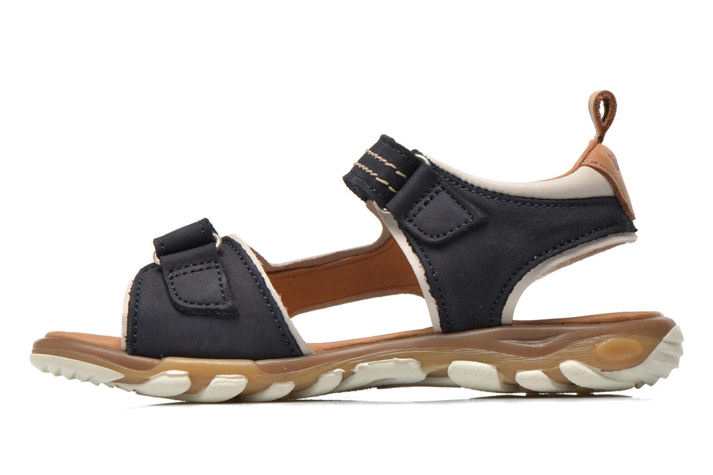 Sandales et nu-pieds Bisgaard Morten Bleu vue face
