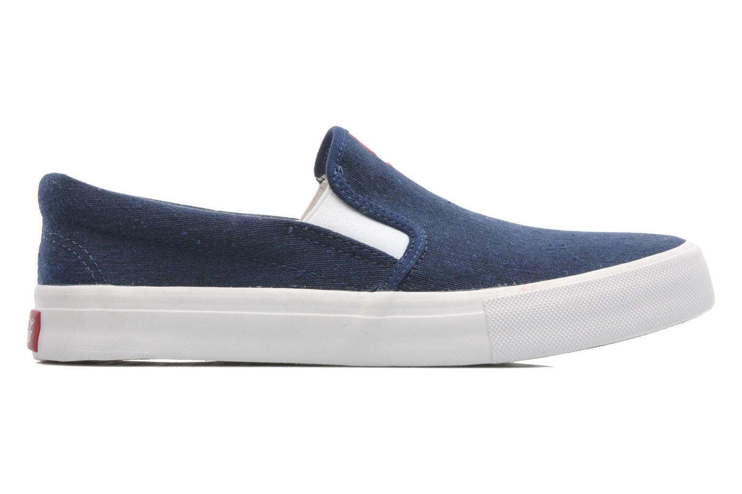 Trainers Coca-cola shoes Iate Blue back view