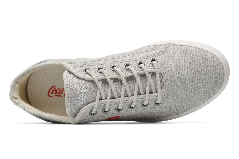 Baskets Coca-cola shoes Line Up Gris vue gauche
