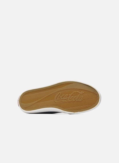 Baskets Coca-cola shoes Wake Bleu vue haut
