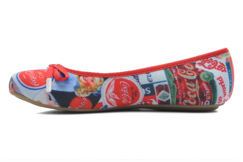 Ballerinaer Coca-cola shoes Rose Multi se forfra